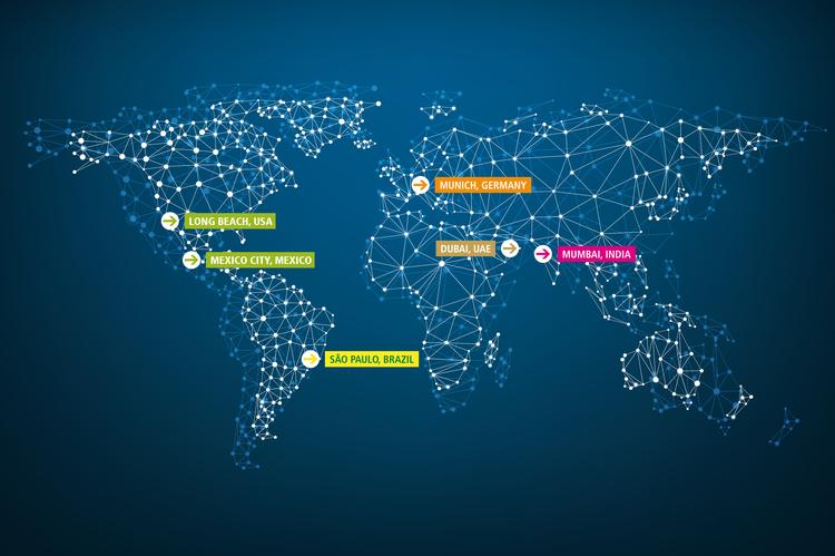 Intersolar pv exhibition events worldwide